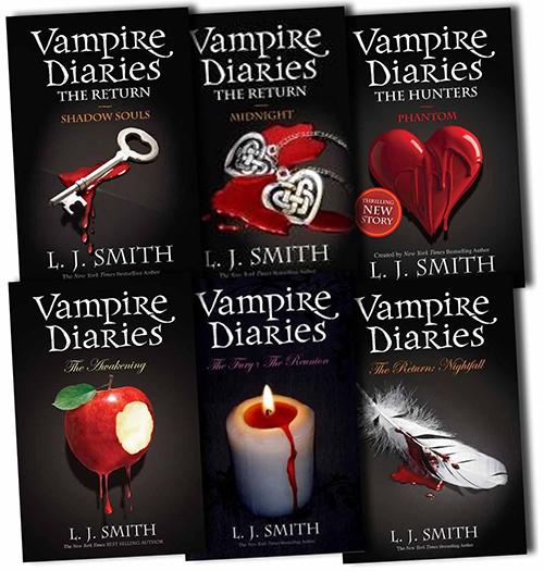 دانلود مجموع کتاب های انگلیسی خاطرات یک خون آشام