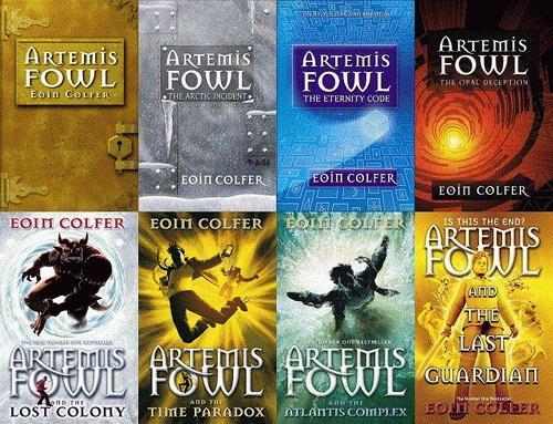 دانلود سری کتاب های صوتی انگلیسی آرتیمس فاول