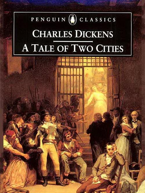دانلود کتاب انگلیسی داستان یک شهر اثر چارلز دیکنز
