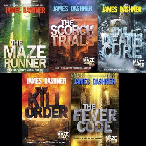 دانلود سری کتاب های انگلیسی دونده مارپیچ (Maze Runner)