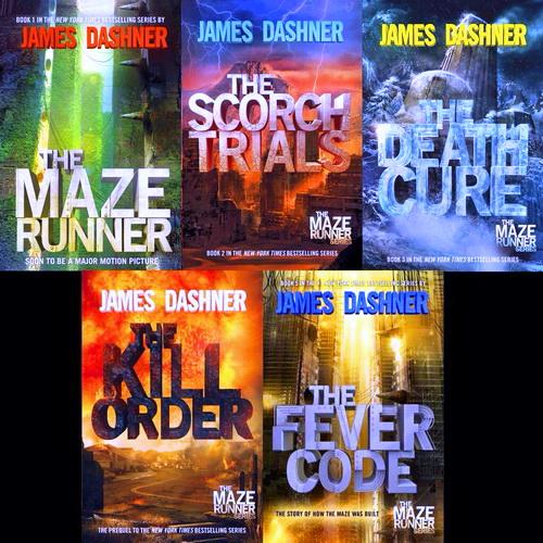 دانلود سری کتاب های صوتی انگلیسی دونده مارپیچ (Maze Runner)