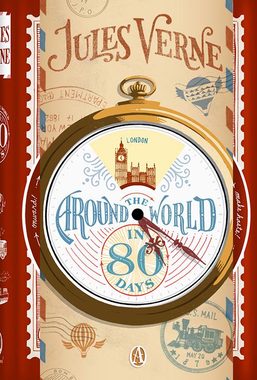 دانلود کتاب صوتی انگلیسی دور دنیا در 80 روز