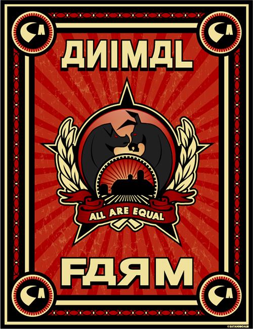 دانلود کتاب انگلیسی مزرعه حیوانات