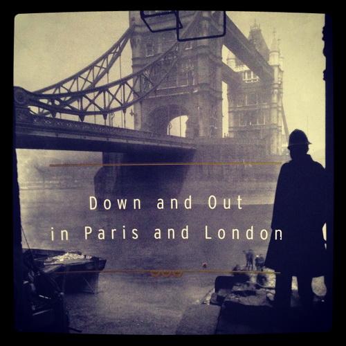دانلود کتاب انگلیسی آس و پاسها در پاریس و لندن